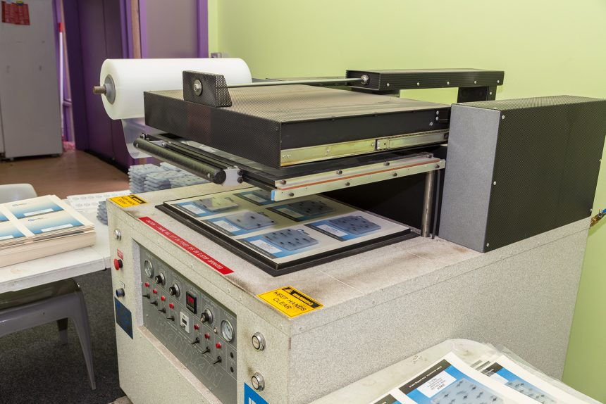 Image of skin packing machine